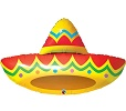 Sombrero Balloon Shape